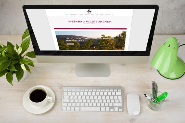 Webseite Weinbau Weinfurtner