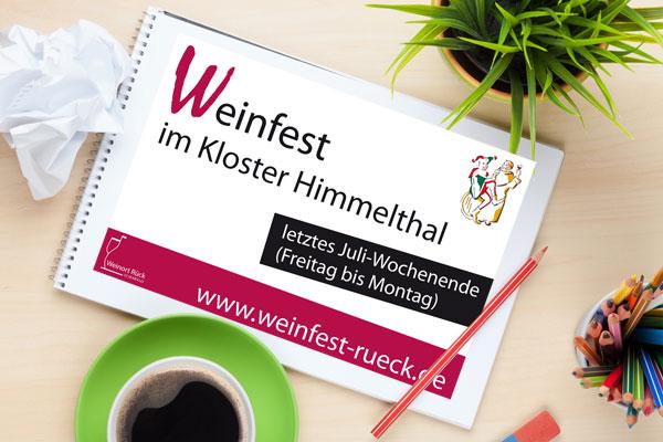 Banner Weinfest Rück