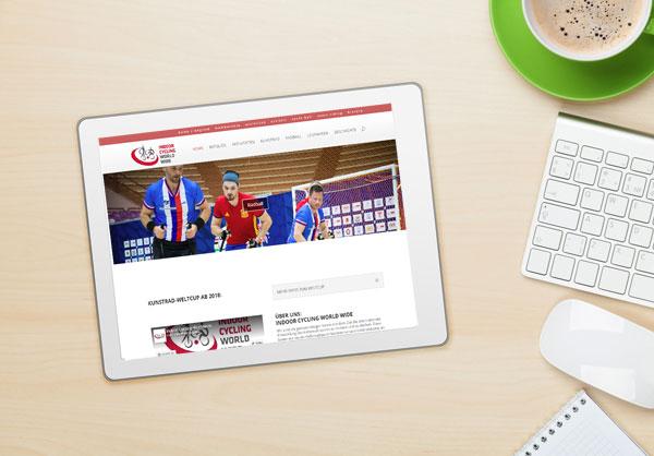 Webseite Indoorcyclingworldwide