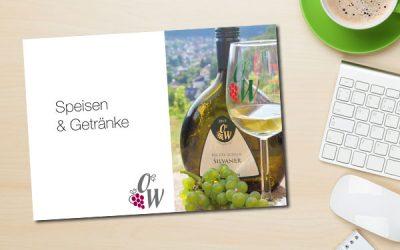 Speisekarten Weinbau Weinfurtner