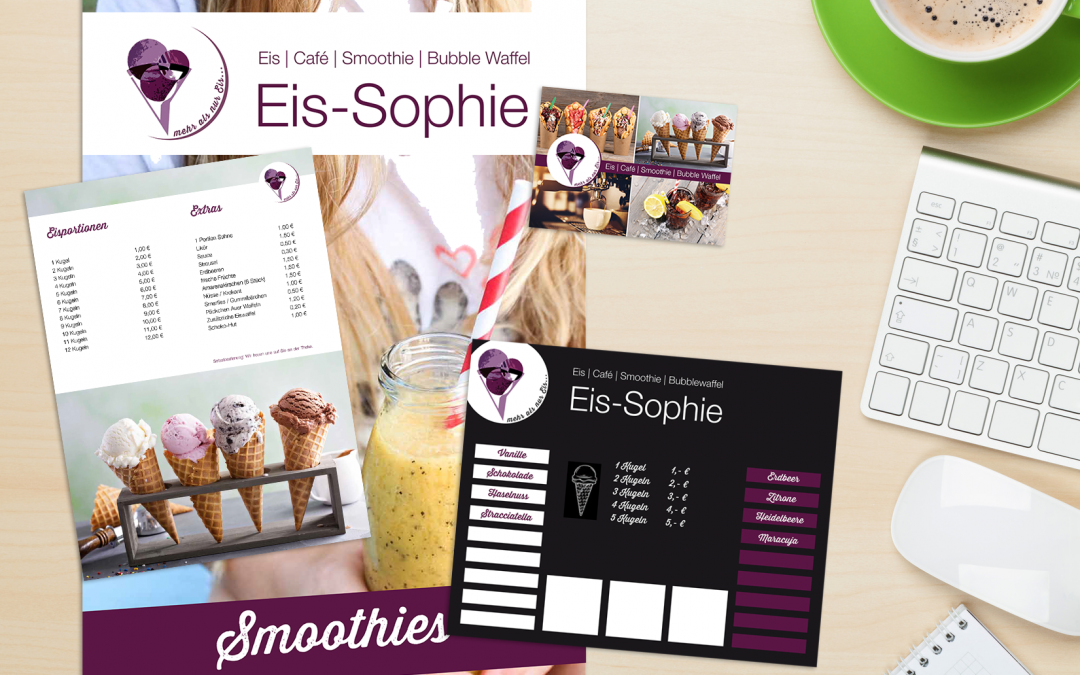 Eis-Sophie Relaunch